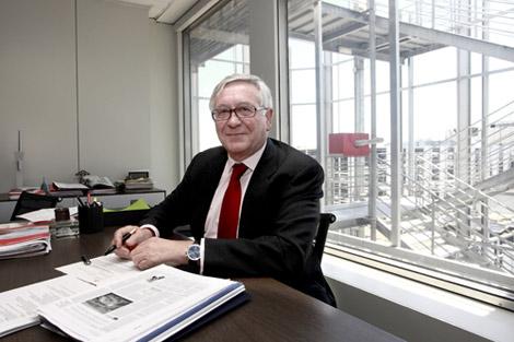 El presidente de APCE, José Manuel Galindo. | Carlos Alba