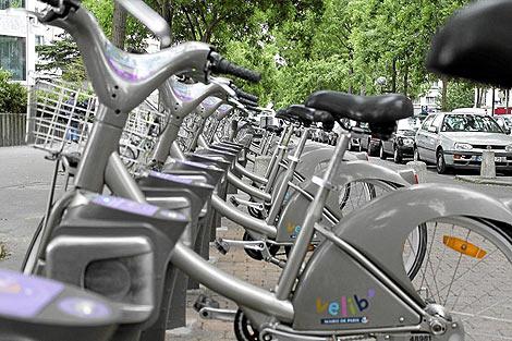 Servicio de préstamo de bicicletas.