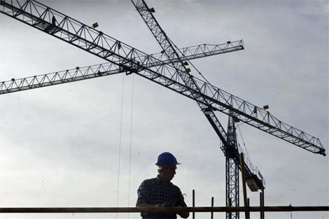 El sector español de la construcción residencial vive un oscuro presente. | Iñaki Andrés