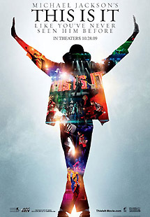 Cartel del documental 'This is it'.