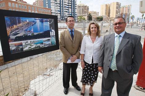 Presentación de las nuevas instalaciones del puerto. | A. Pastor