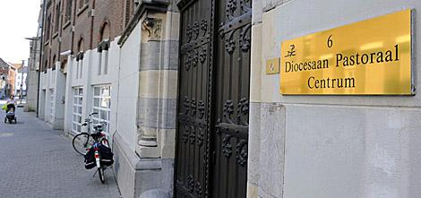 Sede del Centro Diocesano Pastoral belga, también registrado. | Efe
