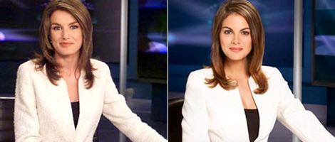 Las primeras imágenes de la actriz caracterizada desvelan un gran parecido. | divinity.es