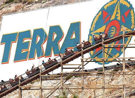 Una de las atracciones de Terra Mítica en Benidorm. | Ernesto Caparrós