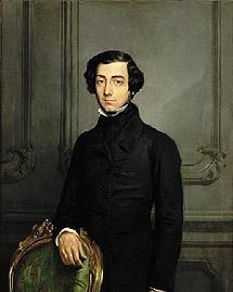 Retrato de Tocqueville