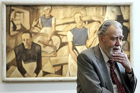 El coleccionista Rudolf Leopold, en 2008. | Efe / Apa