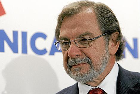 Juan Luis Cebrián, consejero delegado de Prisa. (Foto: Alberto Di Lolli)