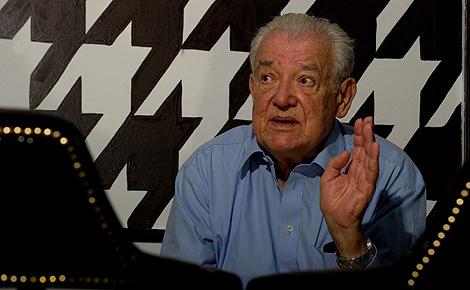 Max Liniger-Goumaz, durante la entrevista en Madrid.   Gonzalo Arroyo