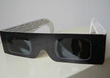 Gafas para observar eclipses solares.