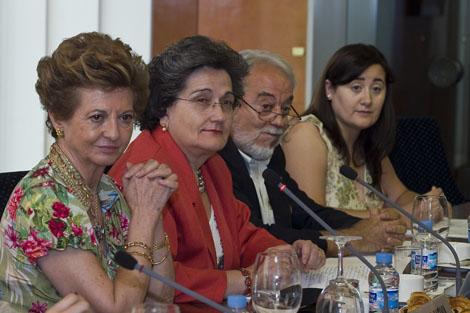 Elvira Moya, Rosario Heras, J.A.Saja y Amparo Tórtola. | RSEF