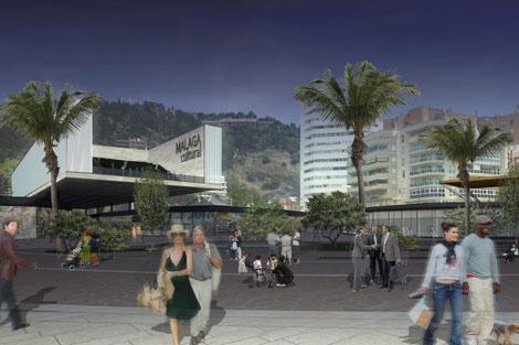 Imagen del proyecto para el muelle 1. | ELMUNDO.es