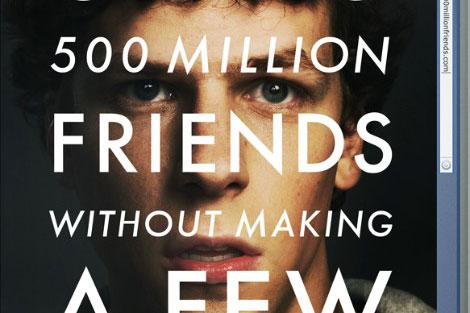 Cartel de la película 'The Social Network'.