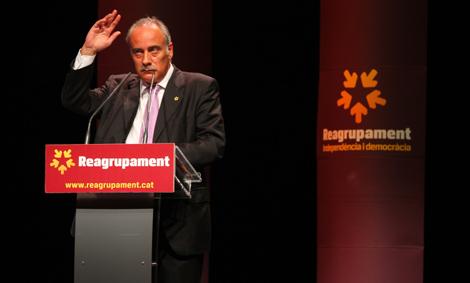 Carretero, durante su discurso en la asamblea. | Christian Maury