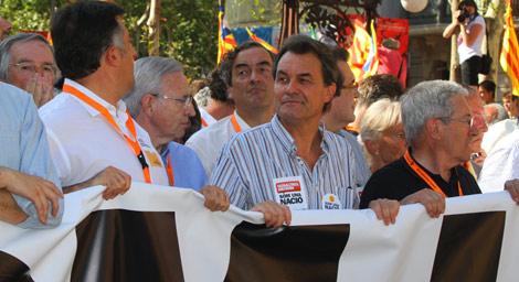 CiU   Manifestación contra Ciudadanos: Traidors a Catalunya! 1278782540_0