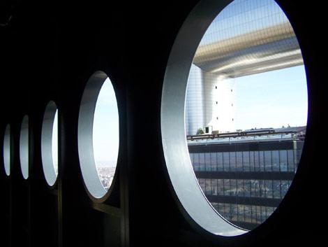 Vistas de la Torre Caja Madrid desde Torre Espacio. | Jose F. Leal
