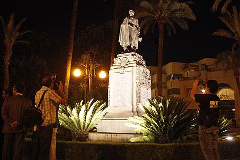 La iluminación del Duque de Rivas. | Madero Cubero.
