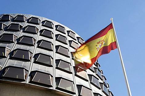 La sede del Tribunal Constitucional. | Efe