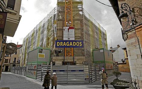 Rehabilitación de un edificio en León. | ELMUNDO.es