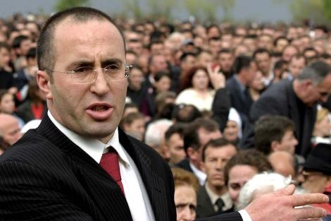 El ex primer ministro de Kosovo Ramush Haradinaj, en 2005.   AFP