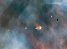 Un grupo de proplyps. | NASA/ESA/HST