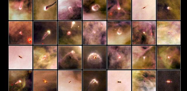 Discos protoplanetarios observados por Hubble en Orión. | NASA/ESA/L.RICCI