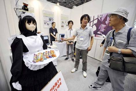 Robor creado por la Universidad de Saitama. | Efe