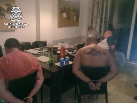 Imagen de las personas detenidas por la Policía Nacional. | ELMUNDO.es