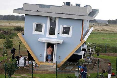 Un ejemplo de arquitectura 'creativa'.