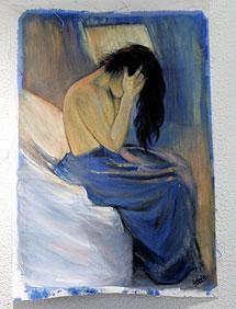 Una de sus obras. | Mitxi