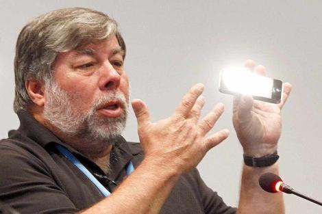 Steve Wozniak en Valencia. | Vicente Bosch