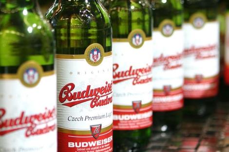Cerveza 'Budweiser', embotellada en Budweis, República Checa. | budweiser-budvar.cz
