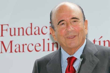 El presidente del Banco Santander, Emilio Botín. | David S. Bustamante