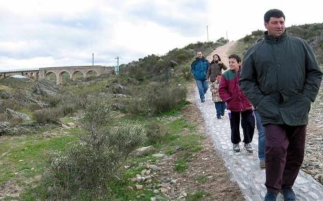 Siega Verde, en el término municipal de Martillán, Salamanca. | Enrique Carrascal