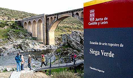 Estación de arte rupestre de Siega Verde. | Enrique Carrascal