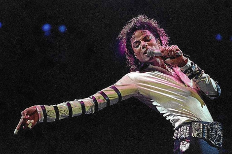 Concierto del cantante en 1988 . | Ap