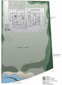 Plano de la parcela de la propiedad, de 5.000 metros cuadrados, alquilada por el técnico madridista. | ELMUNDO.es