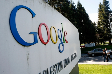 Sede de Google en Mountain View. | Afp