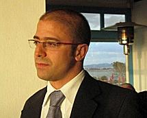Alfredo Biosca, en su trabajo en Rumanía.