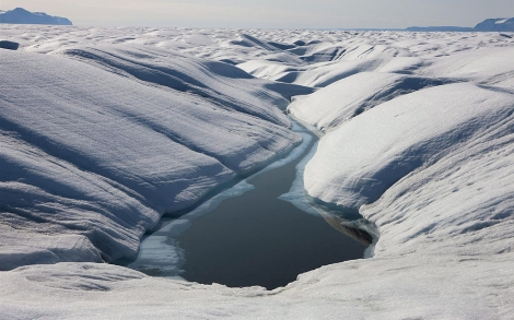 otografía de archivo facilitada por Greenpeace del glaciar Peterman. | Efe