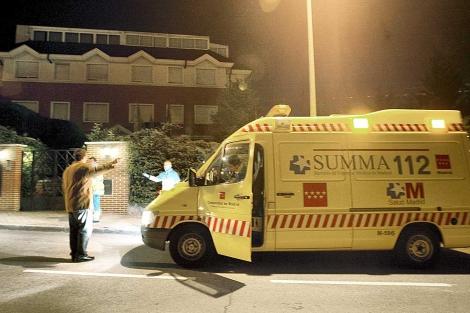 Una ambulancia de la Comunidad de Madrid. | Alberto di Lolli