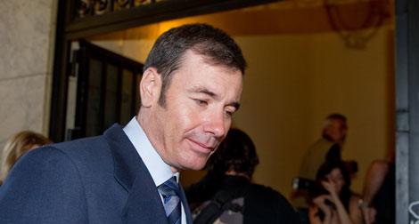 Tomás Gómez, presidente del PSM.  Gonzalo Arroyo