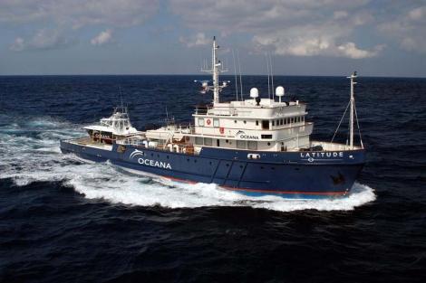 El barco Oceana Latitude evaluará el impacto del vertido de BP. | Efe