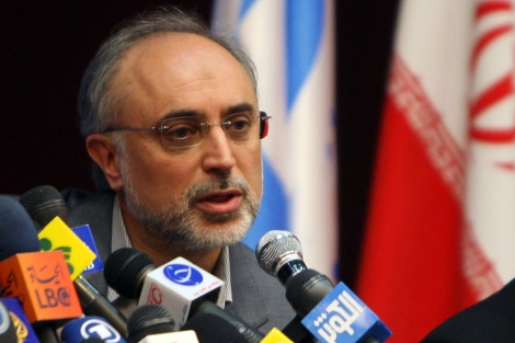 Ali Akbar Salehi, el director del Organismo de la Energía Atómica de Irán (OEAI). | Afp