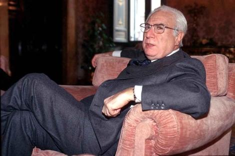 El ex presidente en 2001 durante una entrevista. | Iberpress