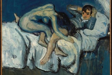 'Escena erótica', de Picasso, de la cual renegó. | Met