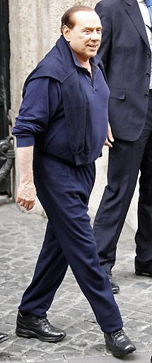 Berlusconi, hace unos días tras sus vacaciones. | Reuters