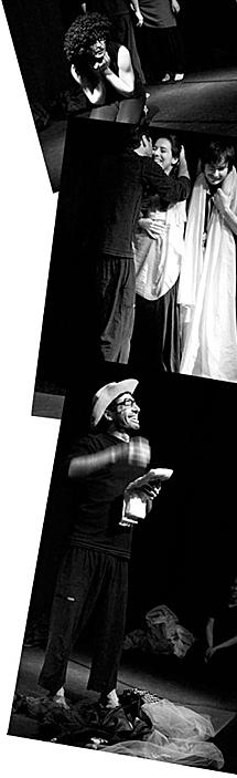 Los actores de improntateatro. | Imágenes cedidas por la compañía