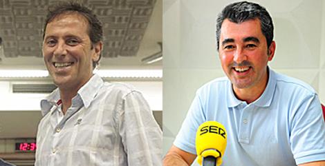 Paco González y Javier Hoyos.