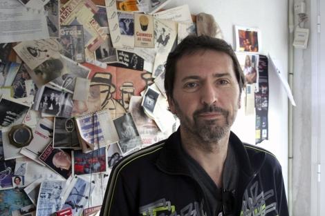 El autor, Andrés Rubio.