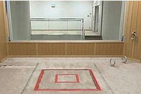 La 'cámara de la muerte', en el centro de detención de Tokio. VEA EL VÍDEO.